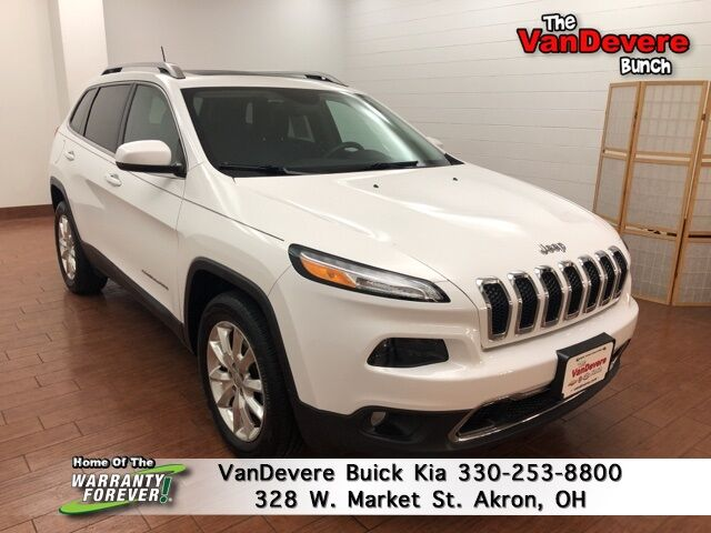 2017 Jeep Cherokee Limited Akron OH