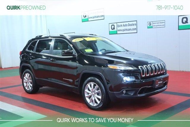 2017 Jeep Cherokee Limited Braintree MA