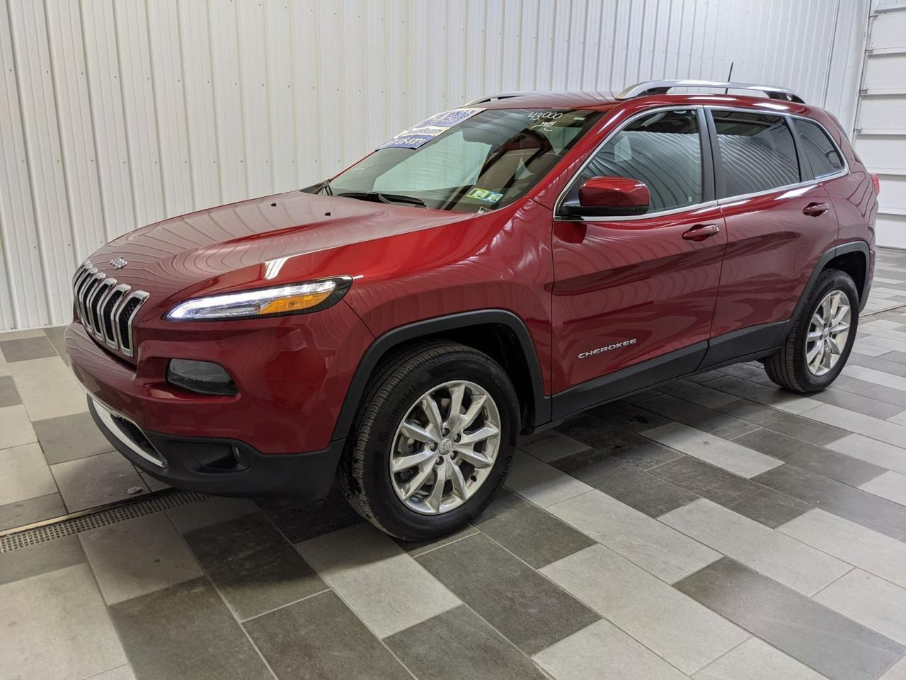 2017 Jeep Cherokee Limited Duncansville PA