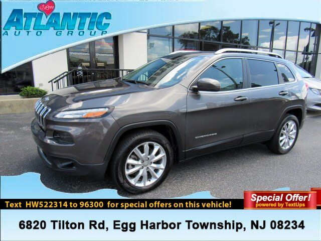 2017 Jeep Cherokee Limited Egg Harbor Township NJ