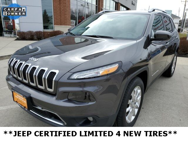 2017 Jeep Cherokee Limited Mayfield Village OH