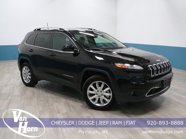 2017 Jeep Cherokee Limited Plymouth WI