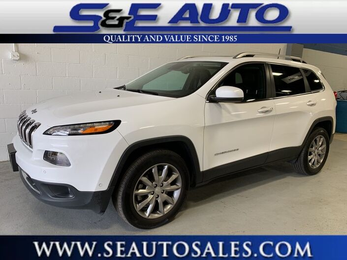 2017 Jeep Cherokee Limited Weymouth MA
