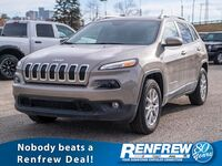 Jeep Cherokee North 4x4, Remote Start, Keyless Entry, Backup Camera 2017