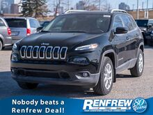2017_Jeep_Cherokee_North, Backup Camera, Leather Heated Steering Wheel, Touchscreen_ Calgary AB