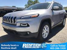 2017_Jeep_Cherokee_North, Heated Seats, Backup Camera, Touchscreen_ Calgary AB