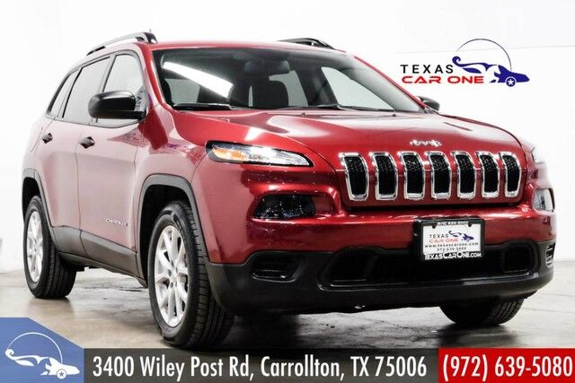 2017 Jeep Cherokee SPORT AUTOMATIC BLUETOOTH CRUISE CONTROL ALLOY WHEELS Carrollton TX