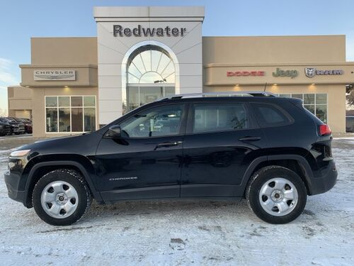 2017_Jeep_Cherokee_Sport - 4WD - 3.2L Pentastar Engine - Trailer Tow Group - Back-Up Camera_ Redwater AB