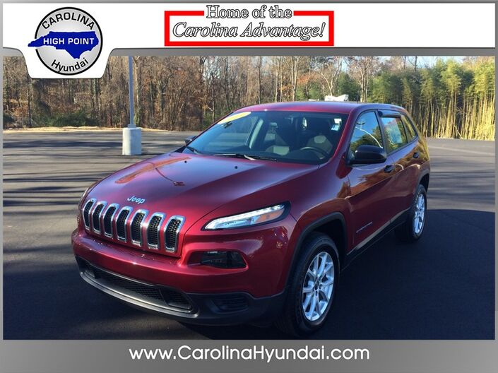 2017 Jeep Cherokee Sport High Point NC