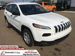 2017 Jeep Cherokee Sport V6 4X4 PRICE DROP!