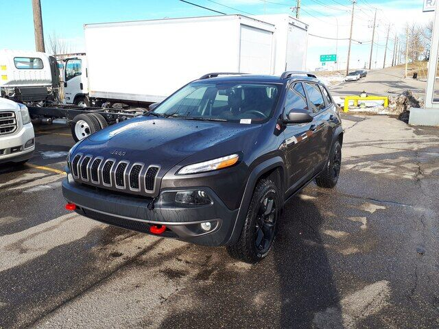 2017 Jeep Cherokee Trailhawk | Leather | Backup Camera | Heated Seats Calgary AB