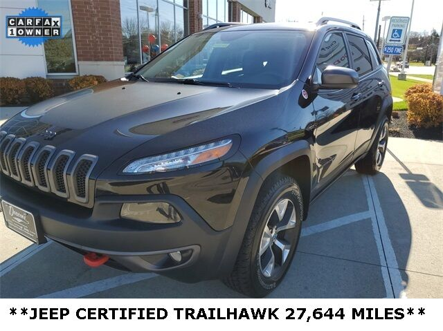2017 Jeep Cherokee Trailhawk Mayfield Village OH