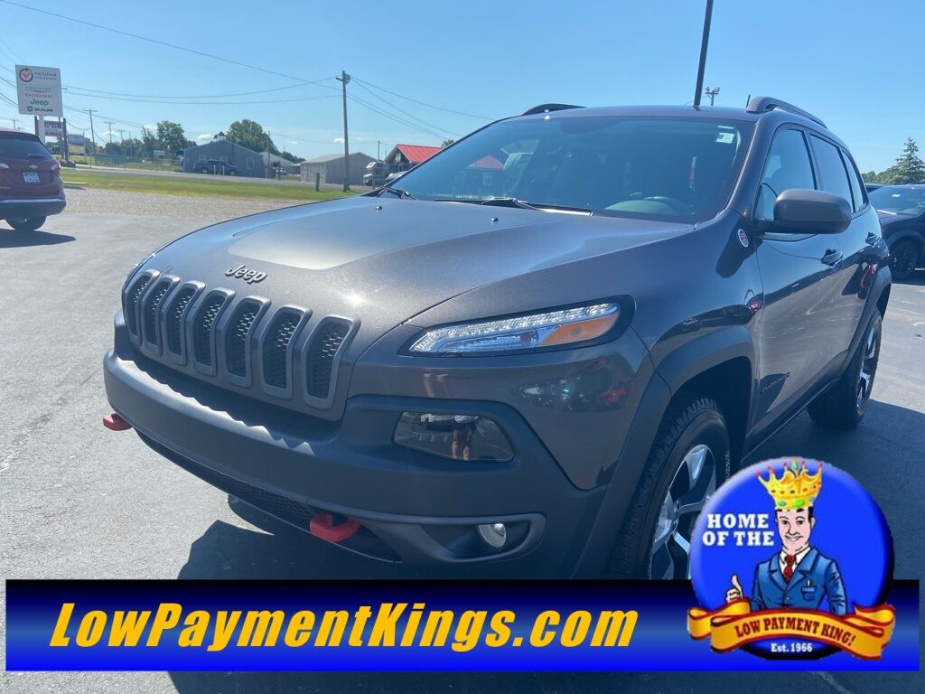 2017 Jeep Cherokee Trailhawk Shelby OH