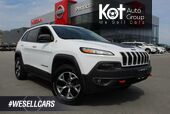 2017 Jeep Cherokee Trailhawk, Panoramic Sunroof, Fully Loaded, Low Km's