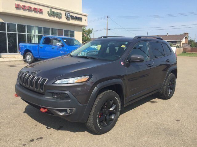 2017 Jeep Cherokee Trailhawk Redwater AB