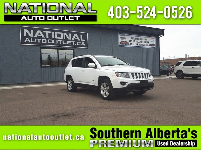 2017 Jeep Compass High Altitude Edition - HEATED LEATHER, SUNROOF Lethbridge AB