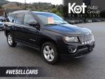 2017 Jeep Compass High Altitude Edition, Back-up Camera, Heated Leather Seats, Sunroof