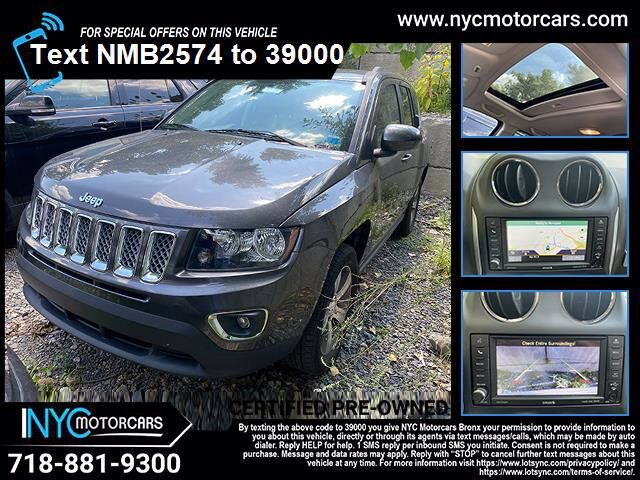 2017 Jeep Compass High Altitude Navigation