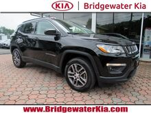 2017_Jeep_Compass_Latitude 4WD, Remote Keyless Entry, Rear-View Camera, Bluetooth Streaming Audio, Leather Trimmed Bucket Seats, Split Folding Rear Seats, Panorama Sunroof, 17-Inch Alloy Wheels,_ Bridgewater NJ