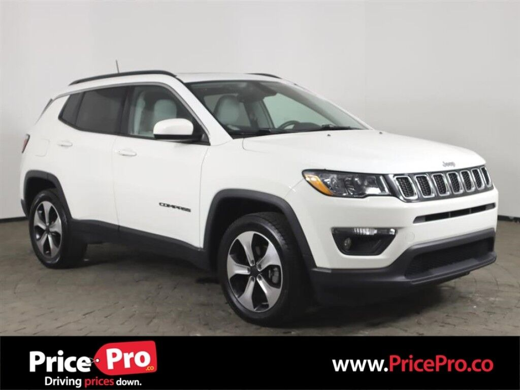 2017 Jeep Compass Latitude 4x4 w/Sunroof/Leather Seats Maumee OH