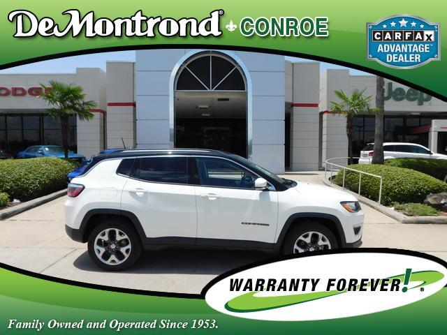 2017 Jeep Compass Limited 4x4 Conroe TX