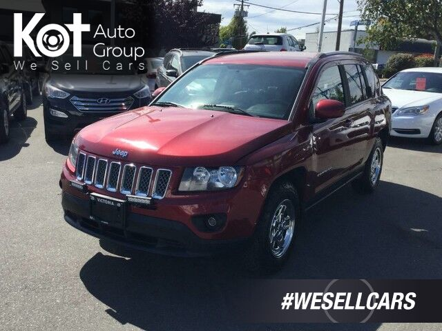 2017 Jeep Compass Sport North Edition 4X4 Keyless Entry, Leather Seats Victoria BC