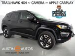2017 Jeep Compass Trailhawk 4X4 *BACKUP-CAMERA, TOUCH SCREEN, LEATHER, STEERING WHEEL CONTROLS, PUSH BUTTON START, REMOTE START, BLUETOOTH, APPLE CARPLAY