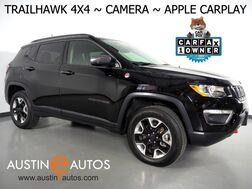 2017_Jeep_Compass Trailhawk 4X4_*BACKUP-CAMERA, TOUCH SCREEN, LEATHER, STEERING WHEEL CONTROLS, PUSH BUTTON START, REMOTE START, BLUETOOTH, APPLE CARPLAY_ Round Rock TX