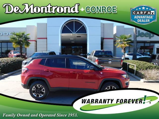2017 Jeep Compass Trailhawk 4x4 Conroe TX