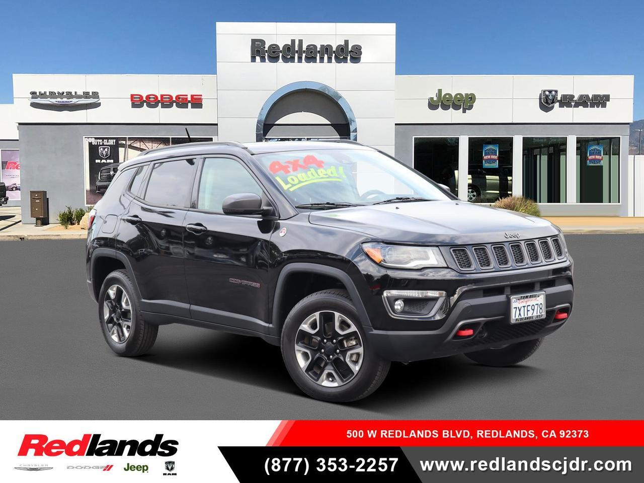 2017 Jeep Compass Trailhawk Redlands CA