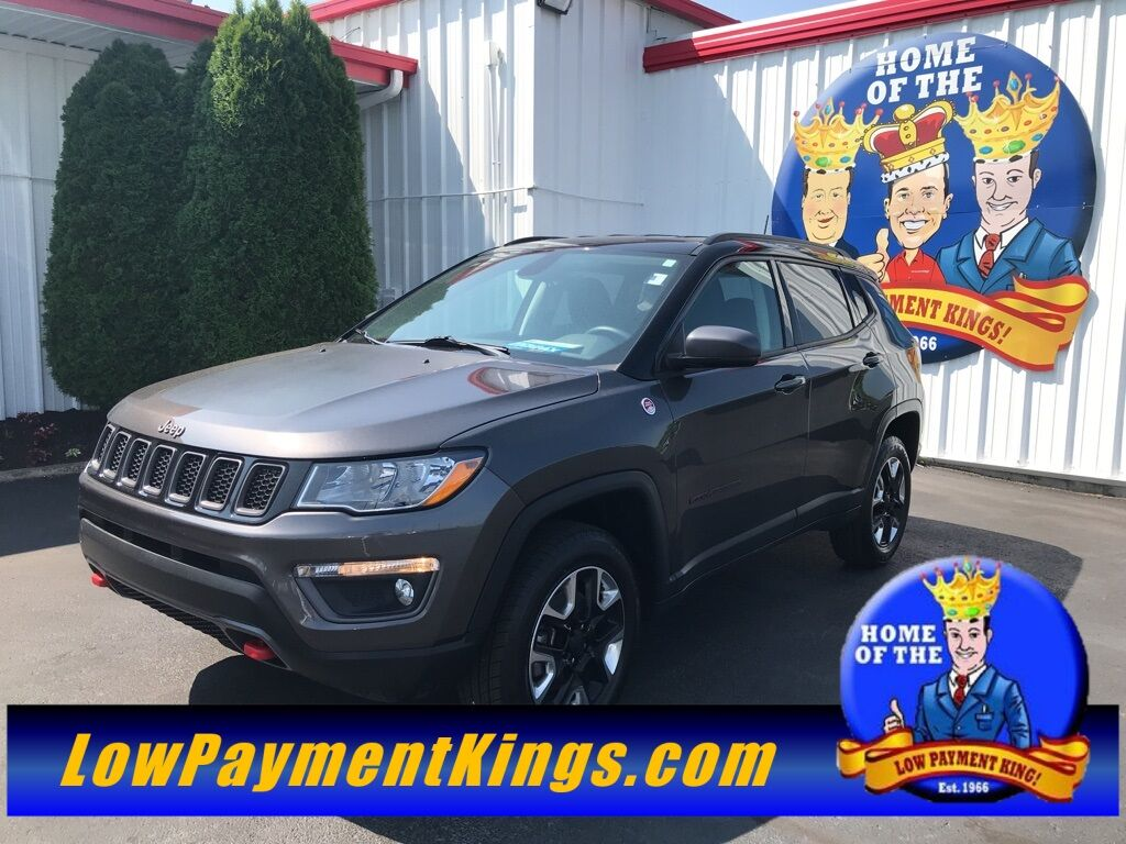 2017 Jeep Compass Trailhawk Shelby OH