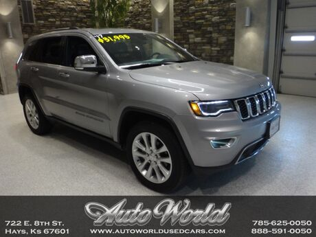2017 Jeep GRAND CHEROKEE LMTD 4X4  Hays KS