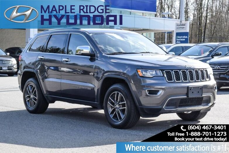 2017 Jeep Grand Cherokee 4WD 4dr Limited Maple Ridge BC