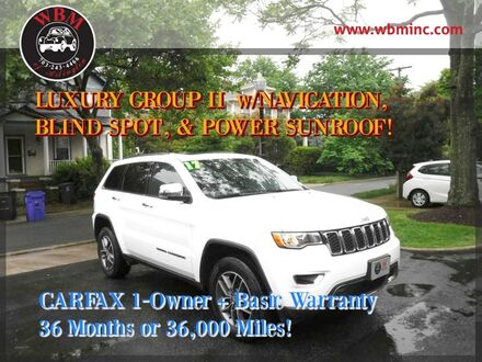 2017_Jeep_Grand Cherokee_4WD Limited_ Arlington VA