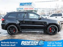 2017_Jeep_Grand Cherokee_4WD SRT, Pano Sunroof, Nav, Remote Start, Heated/Cooled Nappa Leather, Bluetooth, SiriusXM_ Calgary AB