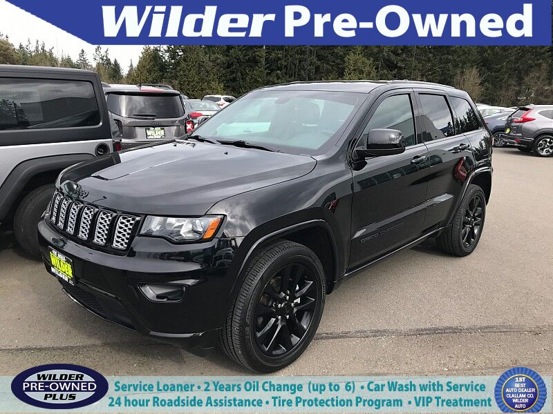 2017 Jeep Grand Cherokee 4d SUV 4WD Laredo Altitude Port Angeles WA
