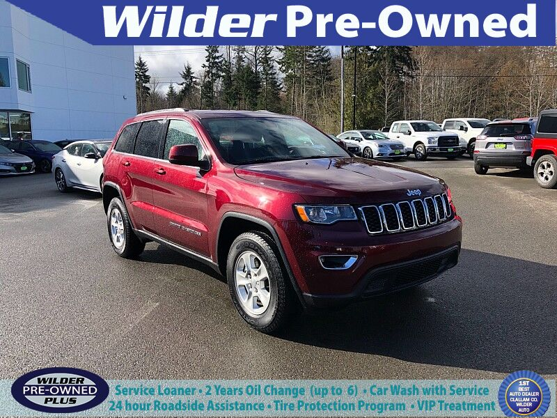 2017 Jeep Grand Cherokee 4d SUV 4WD Laredo E Port Angeles WA