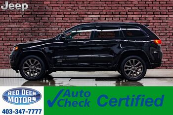 2017_Jeep_Grand Cherokee_4x4 Limited 75th Anniversary Leather Roof_ Red Deer AB