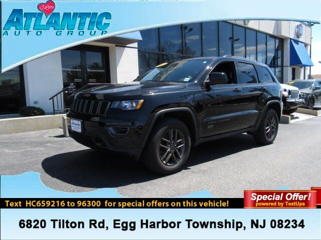 2017 Jeep Grand Cherokee 75th Anniversary Edition Egg Harbor Township NJ