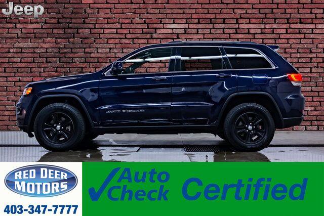 2017 Jeep Grand Cherokee AWD Laredo Roof BCam Red Deer AB