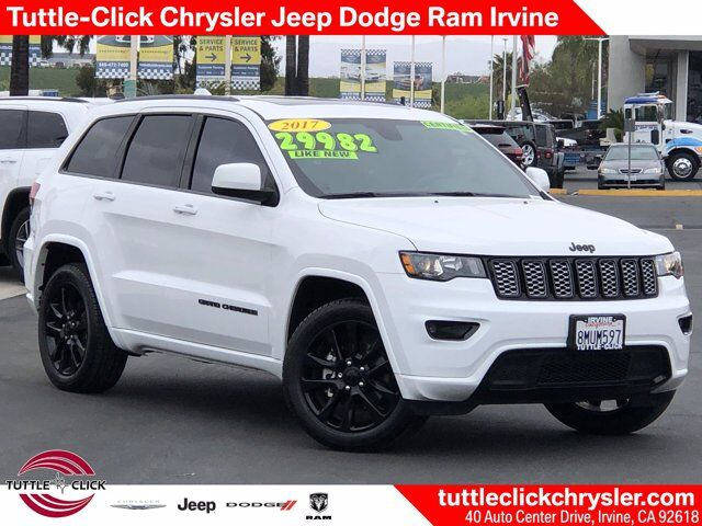 2017 Jeep Grand Cherokee Altitude Irvine CA