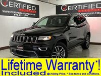 Jeep Grand Cherokee LIMITED 4WD NAVIGATION PANORAMA HEATED LEATHER SEATS REAR CAMER 2017