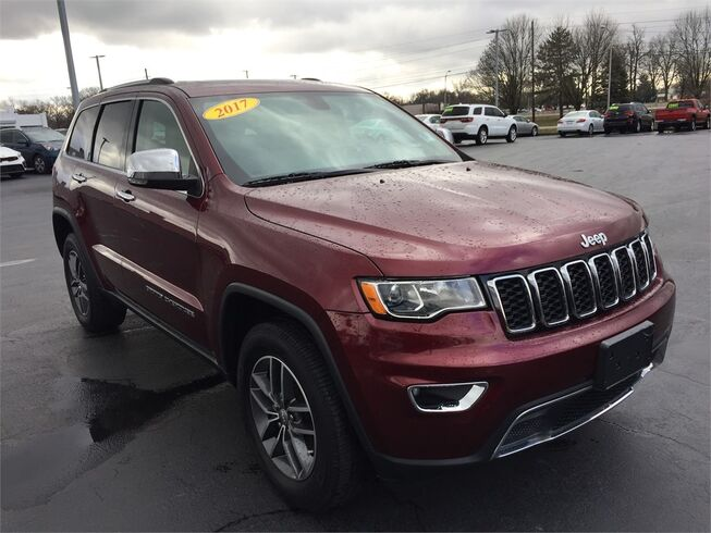 2017 Jeep Grand Cherokee LIMITED 4X4 Evansville IN