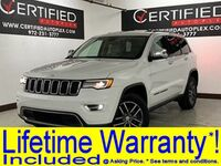 Jeep Grand Cherokee LIMITED LUXURY LEVEL II NAVIGATION PANORAMIC ROOF HEATED LEATHER SEATS REAR 2017