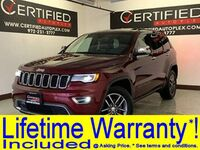 Jeep Grand Cherokee LIMITED NAVIGATION PANORAMIC ROOF HEATED COOLED LEATHER SEATS REAR CAMERA P 2017