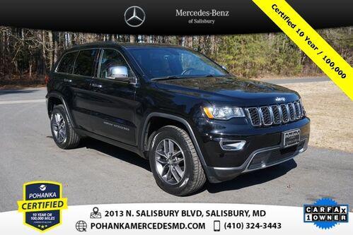 2017_Jeep_Grand Cherokee_Limited 4WD ** Pohanka Certified 10 year / 100,000 **_ Salisbury MD