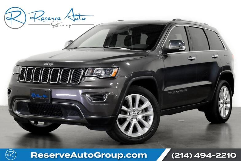 2017 Jeep Grand Cherokee Limited 4WD 4X4 Moonroof Navigation 20 Alloys The Colony TX