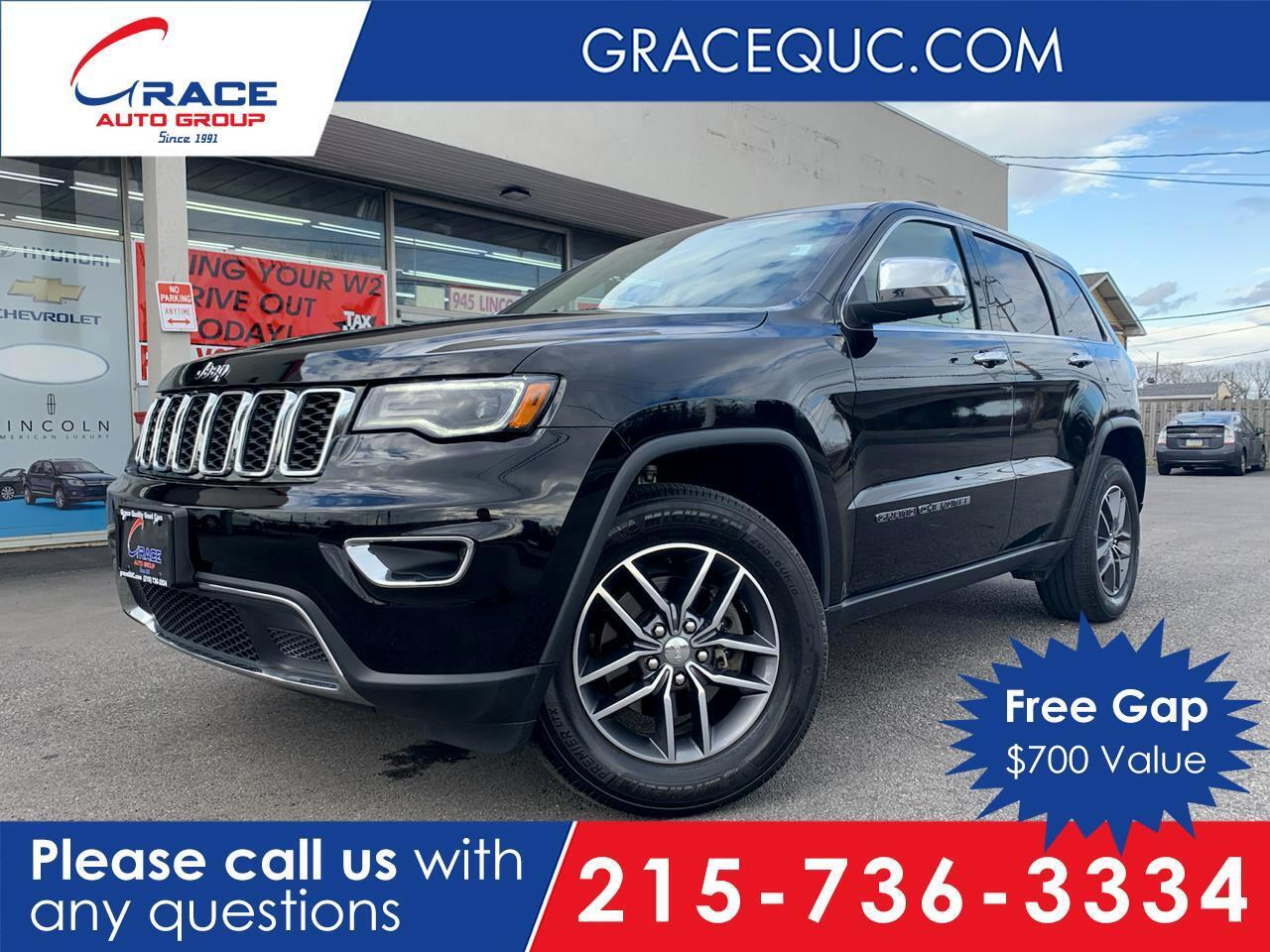 2017 Jeep Grand Cherokee Limited 4WD Morrisville PA