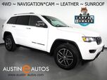 2017 Jeep Grand Cherokee Limited 4WD *NAVIGATION, BACKUP-CAMERA, COLOR TOUCH SCREEN, MOONROOF, LEATHER, HEATED SEATS, POWER LIFTGATE, REMOTE START, BLUETOOTH