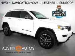 2017_Jeep_Grand Cherokee Limited 4WD_*NAVIGATION, BACKUP-CAMERA, COLOR TOUCH SCREEN, MOONROOF, LEATHER, HEATED SEATS, POWER LIFTGATE, REMOTE START, BLUETOOTH_ Round Rock TX